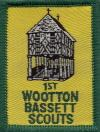 1st Wootton Bassett Scouts Badge